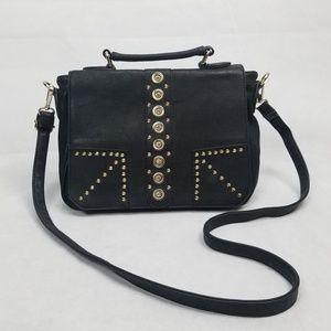 Handbags - STUD + JEWEL Crossbody Convertible Purse Satchel